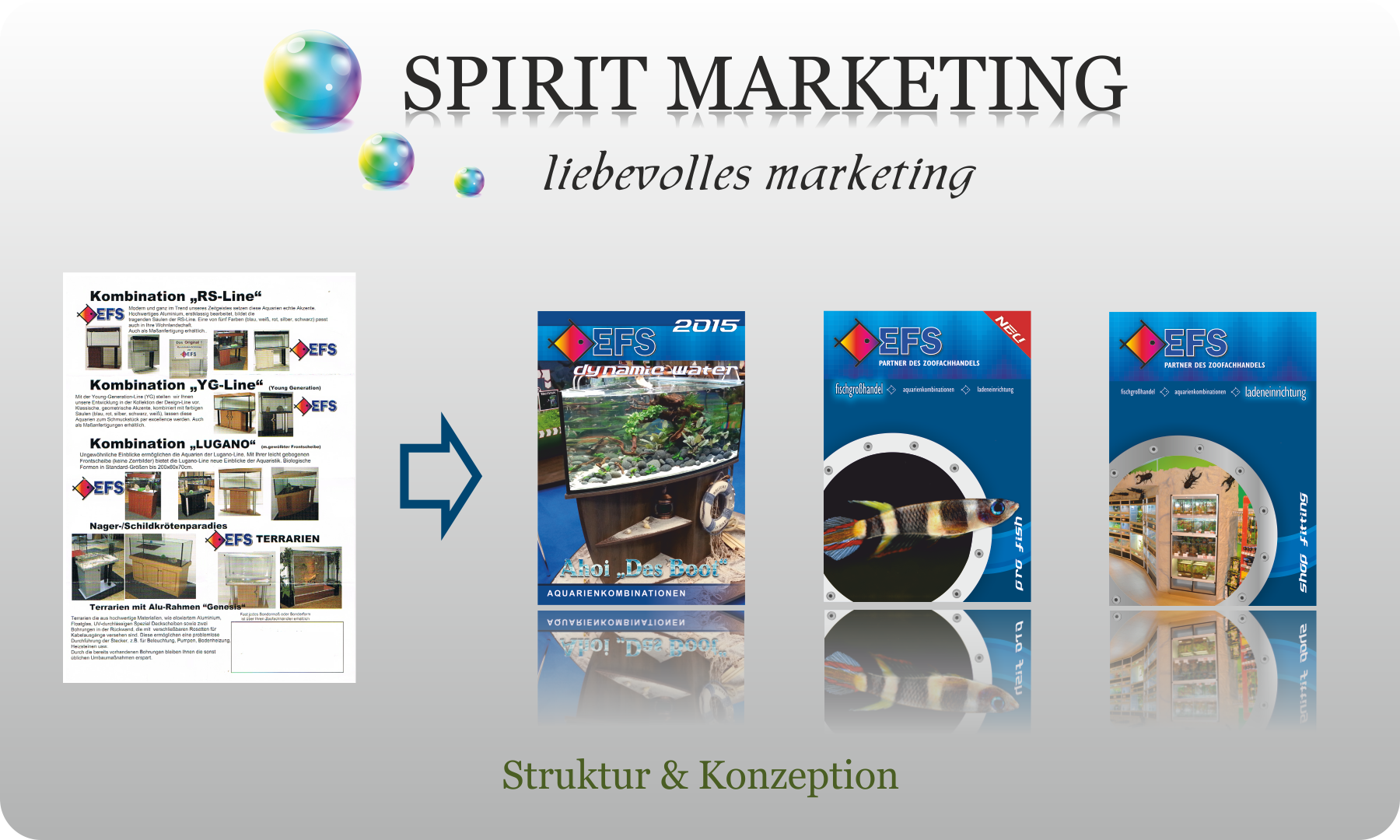 SPIRIT MARKETING - Struktur & Konzeption