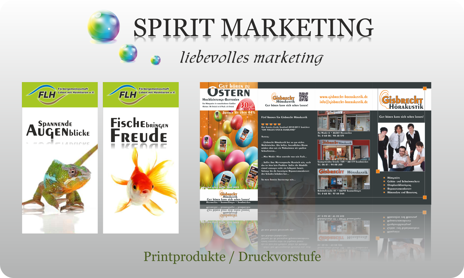 SPIRIT MARKETING - Spirit Drucksachen