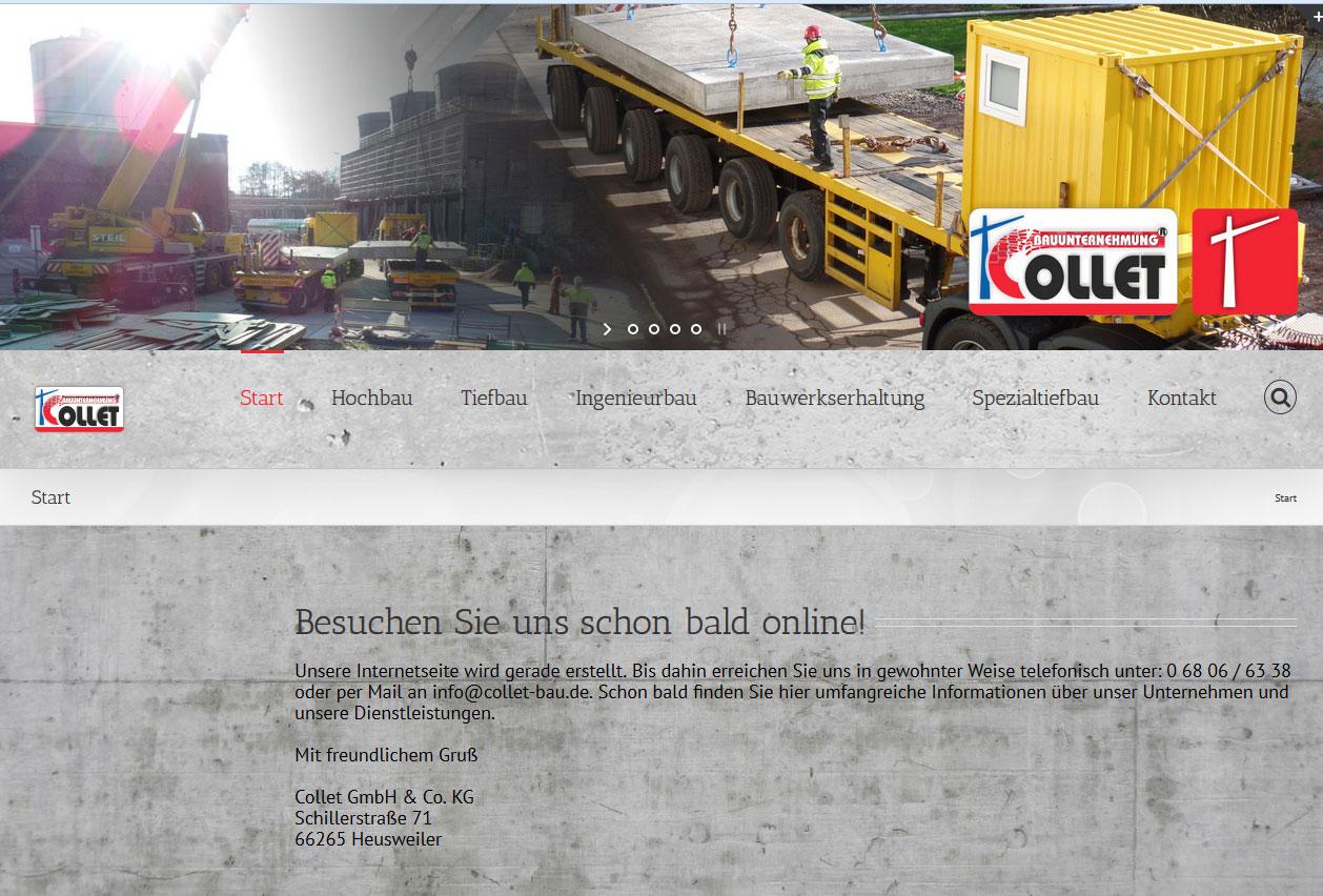Collet Bau GmbH & Co. KG • Heusweiler