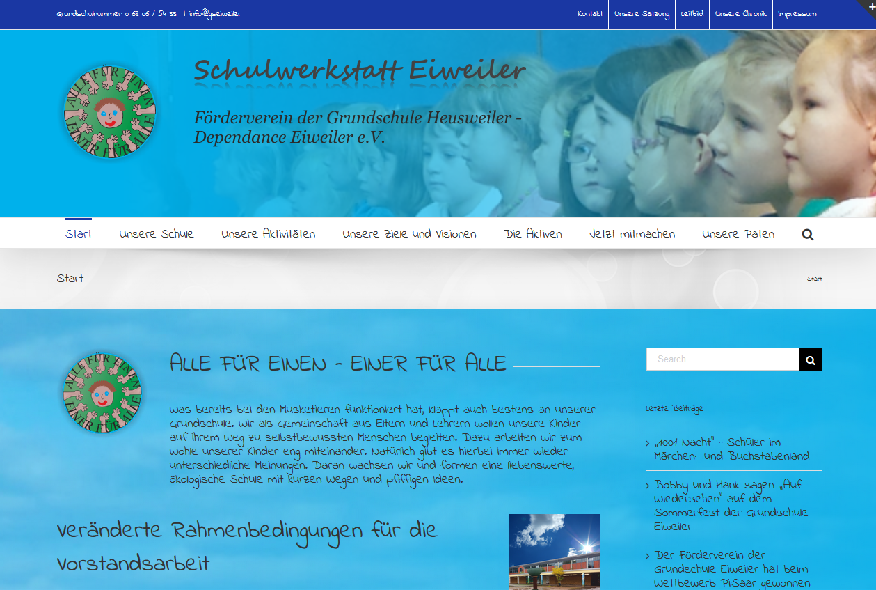 SPIRIT MARKETING - Spirit Webdesign - Grundschule Eiweiler