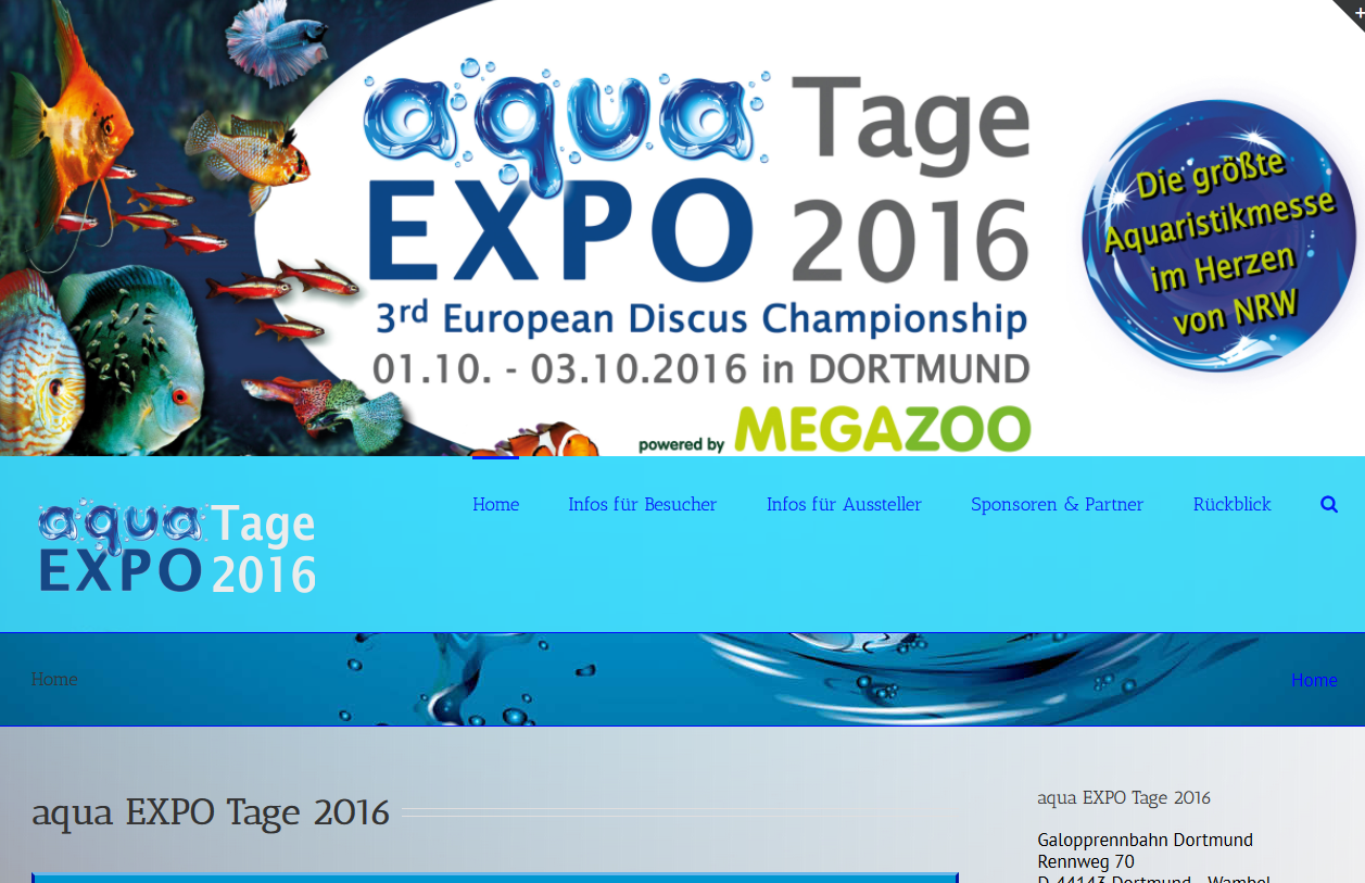 SPIRIT MARKETING - aqua EXPO Tage 2016
