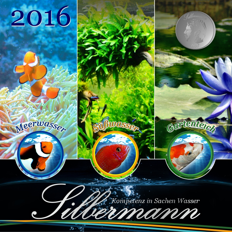 Silbermann Aquaristik - Produktkatalog 2016 - SPIRIT MARKETING