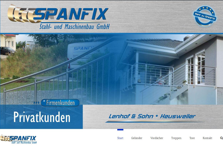 SPANFIX Heusweiler Privatkundenseite