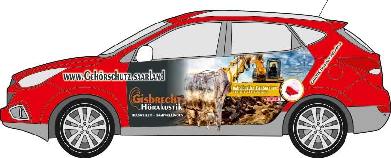 SPIRIT MARKETING - Werbetechnik - Fahrzeugbeschriftung